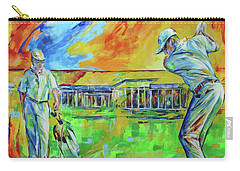Carry-all Pouch featuring the painting Golfclub Mettmann by Koro Arandia