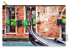 Gondola In Venice Carry-all Pouch