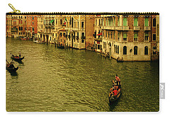 Carry-all Pouch featuring the photograph Gondola Life by Anne Kotan