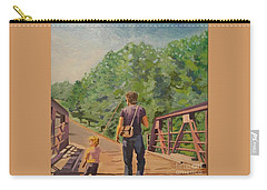 Gone Fishing With Dad Carry-all Pouch