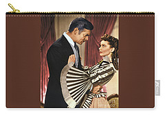 Gone With The Wind - 1939 - Completely Retouched In Color Carry-all Pouch