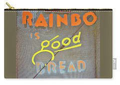 Carry-all Pouch featuring the photograph Good Bread by Joe Jake Pratt