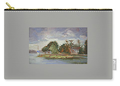 Good Day For Sailing - Plein Air  Eastern Shore Carry-all Pouch