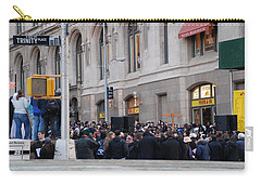 Carry-all Pouch featuring the photograph Good Friday On Trinity Place by Rob Hans