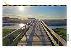 Good Harbor Beach Footbridge Sunny Shadow Carry-all Pouch
