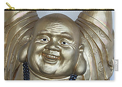 Good Luck Buddha Carry-all Pouch