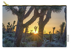 Good Morning From Joshua Tree Carry-all Pouch