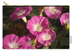 Carry-all Pouch featuring the photograph Good Morning, Glory by Sheila Brown