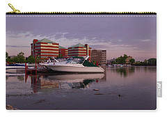 Carry-all Pouch featuring the photograph Good Morning Harbor by Joel Witmeyer