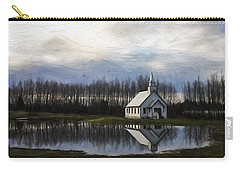 Good Morning - Hope Valley Art Carry-all Pouch by Jordan Blackstone
