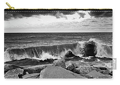 Carry-all Pouch featuring the photograph Good Morning In Black And White by Ricky L Jones