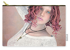Carry-all Pouch featuring the digital art Good Morning by Jutta Maria Pusl