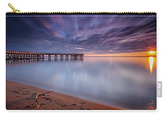 Carry-all Pouch featuring the photograph good morning Mr. Sun   by Edward Kreis