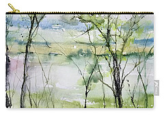 Good Morning On Da Bayou Faciane Carry-all Pouch by Robin Miller-Bookhout