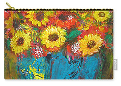 Good Morning Sunshine Carry-all Pouch by Maria Watt