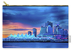 Carry-all Pouch featuring the photograph Good Morning Vancouver by John Poon
