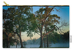 Carry-all Pouch featuring the photograph Good Morning Waco by Elaine Malott