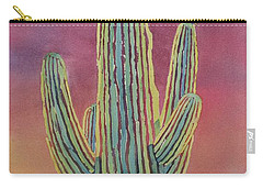 Good Night Cactus Wren Carry-all Pouch