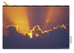 Carry-all Pouch featuring the photograph Good Night Sunshine by Terri Waters