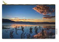Carry-all Pouch featuring the photograph Good Night Tahoe by Mitch Shindelbower