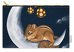 Carry-all Pouch featuring the painting Good Night by Veronica Minozzi