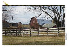 Carry-all Pouch featuring the photograph Good Old Barn by Donald C Morgan