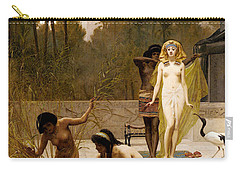 Goodall Frederik The Finding Of Moses Carry-all Pouch by Frederick Goodall