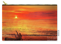 Carry-all Pouch featuring the digital art Goodbye Day by Randy Steele