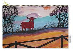 Carry-all Pouch featuring the painting Goodbye My Lover by Jeffrey Koss