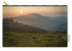 Goodnight Mountains Carry-all Pouch by Kristopher Schoenleber