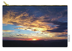 Goodnight On The Grand Canyon Carry-all Pouch
