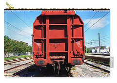 Goods Wagon Carry-all Pouch by Don Pedro De Gracia