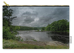 Carry-all Pouch featuring the photograph Googin's Island Revisited by Guy Whiteley