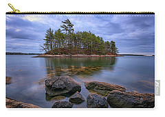 Carry-all Pouch featuring the photograph Googins Island by Rick Berk