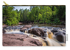 Goose Berry River Rapids Carry-all Pouch by Paul Freidlund
