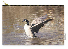 Goose Flapping Wings Carry-all Pouch