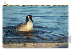 Goose In The Chesapeake Bay Carry-all Pouch