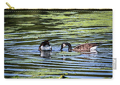 Goose Tipping Carry-all Pouch by Ray Congrove