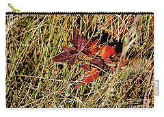 Carry-all Pouch featuring the photograph Gooseberry In Fall by Ann E Robson