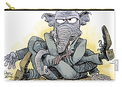 Gop Tied Up In A Knot Carry-all Pouch