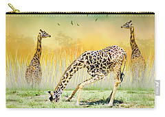 Gopher I Know I Saw A Gorpher Carry-all Pouch by Diane Schuster