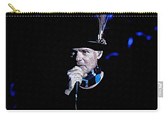 Gord Downie In Concert Carry-all Pouch by Maciek Froncisz