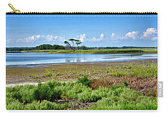 Carry-all Pouch featuring the photograph Gordons Pond At Cape Henlopen State Park - Delaware by Brendan Reals