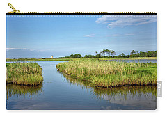 Carry-all Pouch featuring the photograph Gordons Pond - Cape Henlopen Park - Delaware by Brendan Reals