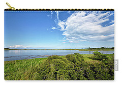 Carry-all Pouch featuring the photograph Gordons Pond Overlook - Cape Henlopen State Park - Delaware by Brendan Reals