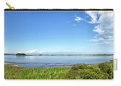 Carry-all Pouch featuring the photograph Gordons Pond Panorama - Cape Henlopen State Park - Delaware by Brendan Reals