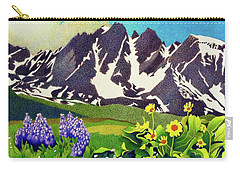 Gore Range Wildflowers Carry-all Pouch