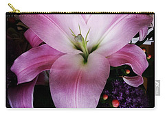 Carry-all Pouch featuring the photograph Gorgeous Flowers. Real. I Think They by Mr Photojimsf