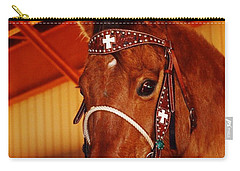 Gorgeous Horse And Bridle Carry-all Pouch