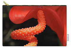 Gorgeous Orange Tropical Flower Blossom Carry-all Pouch